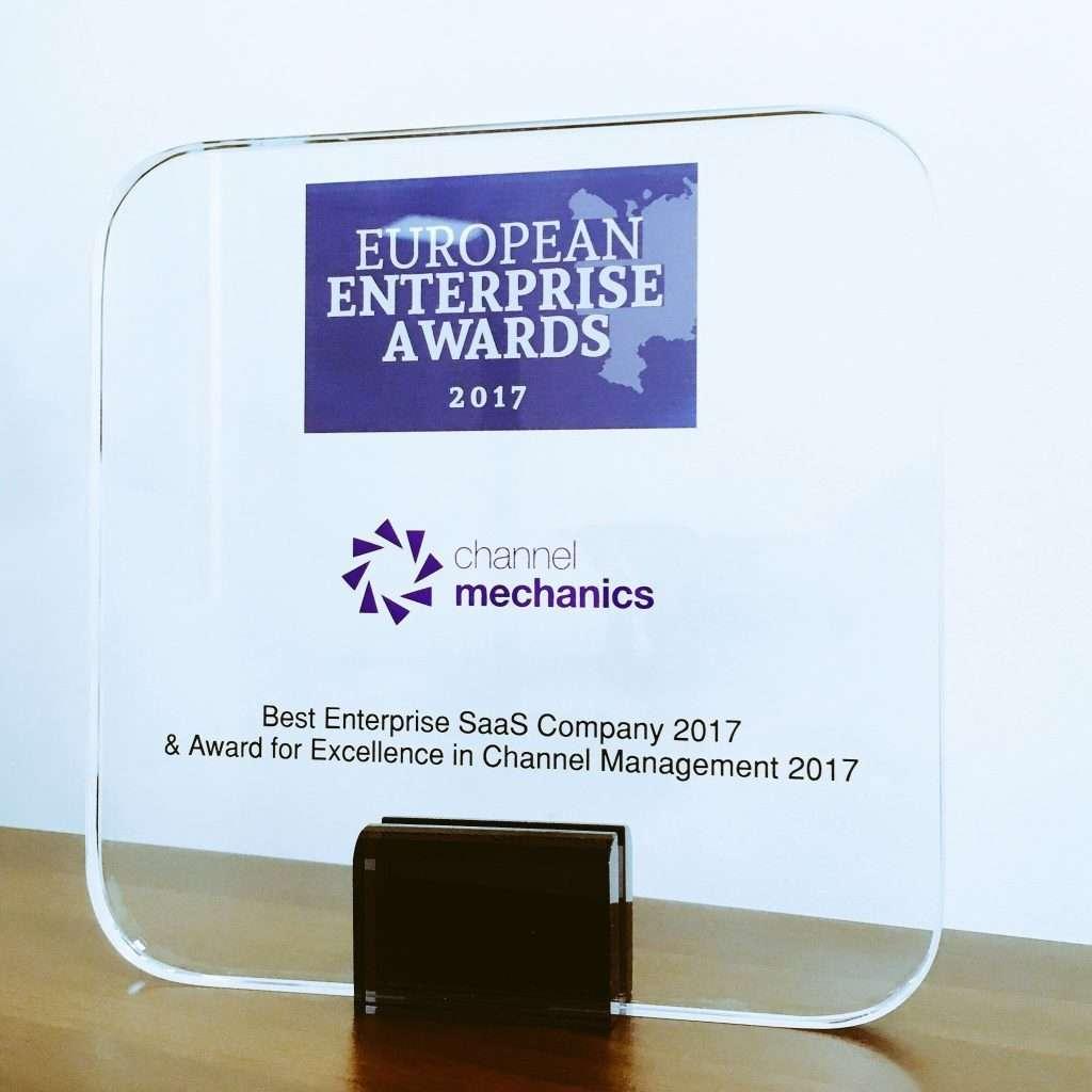 Channel Mechanics Best Enterprise SaaS Company 2017