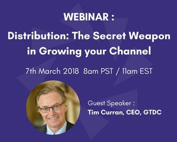 Distribution The Secret Weapon in Growing Your Channel