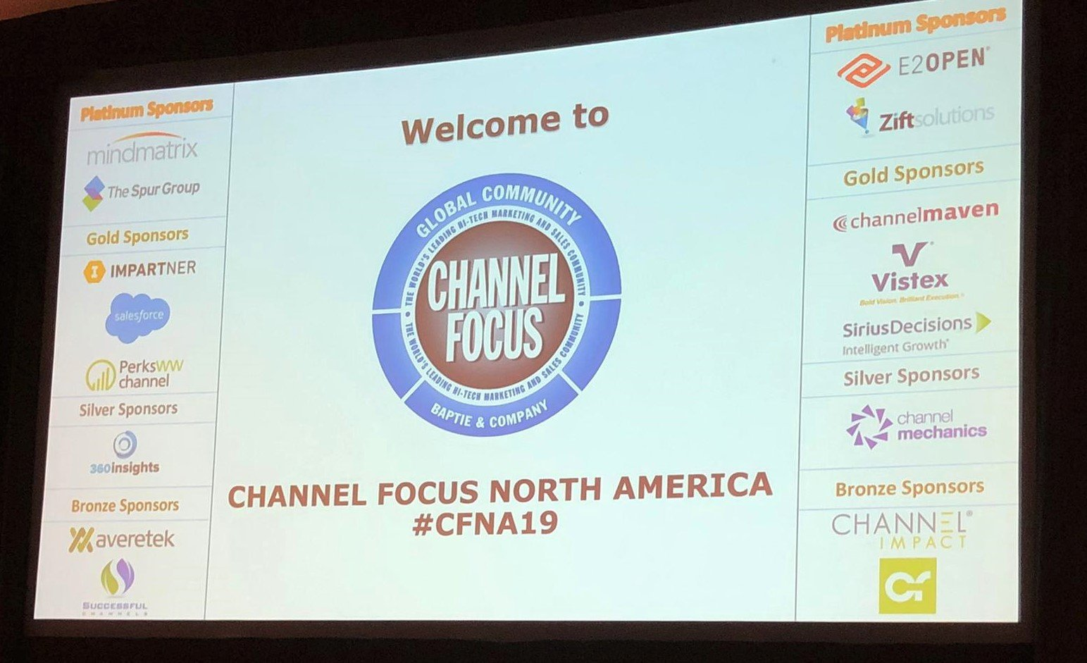 Channel Focus Opening