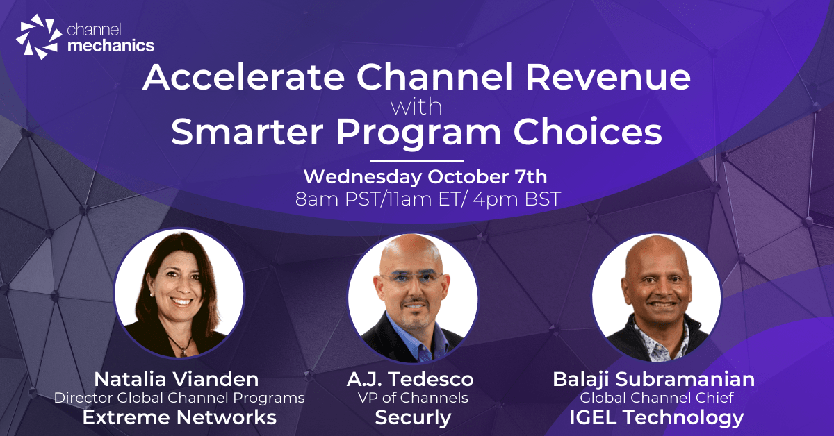 Accelerate Channel Revenue with Smarter Program Choices - Channel Mechanics