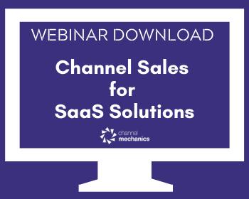 SaaS Channel Sales