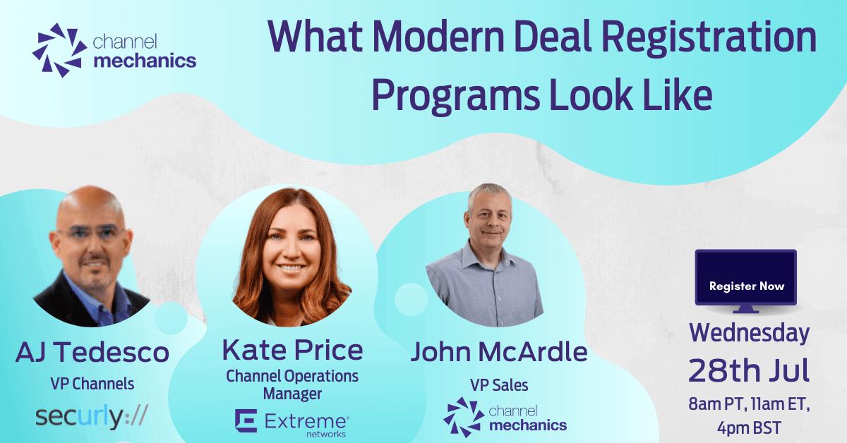 What Do Modern Deal Registration Programs Look Like?